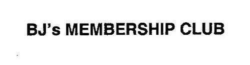 BJ'S MEMBERSHIP CLUB