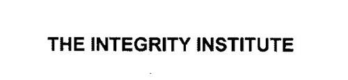 THE INTEGRITY INSTITUTE