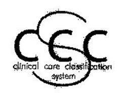CCCS CLINICAL CARE CLASSIFICATION SYSTEM