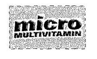 MICRO MULTIVITAMIN