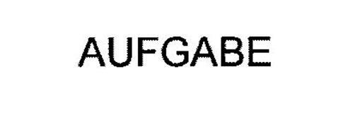 AUFGABE