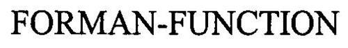 FORMAN-FUNCTION
