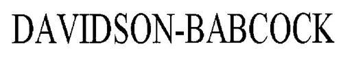 DAVIDSON-BABCOCK