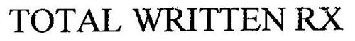 TOTAL WRITTEN RX