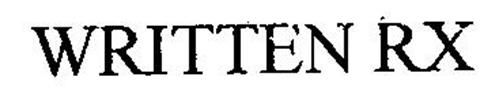WRITTEN RX