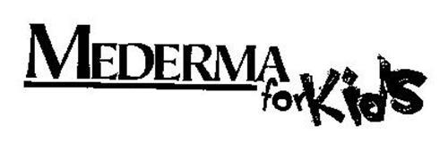 MEDERMA FOR KIDS