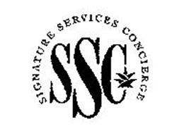 SIGNATURE SERVICES CONCIERGE SSC