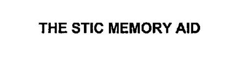 THE STIC MEMORY AID