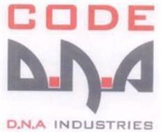 CODE D.N.A D.N.A INDUSTRIES