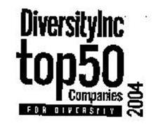 DIVERSITYINC TOP 50 COMPANIES FOR DIVERSITY 2004