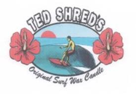 TED SHRED'S ORIGINAL SURF WAX CANDLE