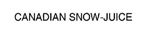 CANADIAN SNOW-JUICE