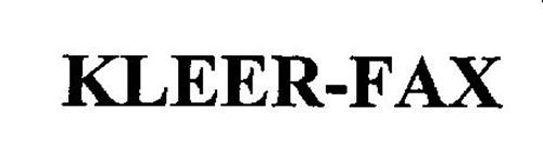 KLEER-FAX