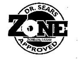 DR. SEARS ZONE APPROVED ZONEDIET.COM
