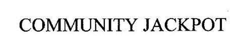 COMMUNITY JACKPOT