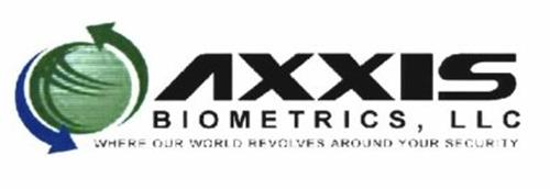 AXXIS BIOMETRICS, LLC WHERE OUR WORLD REVOLVES AROUND YOUR SECURITY