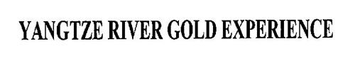 YANGTZE RIVER GOLD EXPERIENCE
