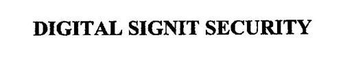 DIGITAL SIGNIT SECURITY