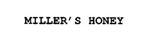 MILLER'S HONEY