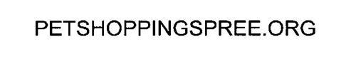 PETSHOPPINGSPREE.ORG