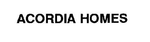 ACORDIA HOMES