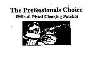 THE PROFESSIONALS CHOICE RIFLE & PISTOL CLEANING PATCHES