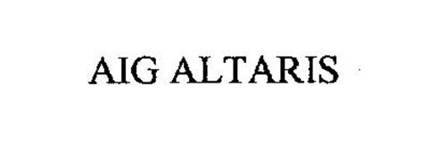 AIG ALTARIS