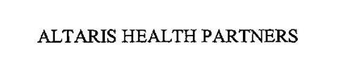 ALTARIS HEALTH PARTNERS