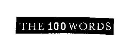 THE 100 WORDS