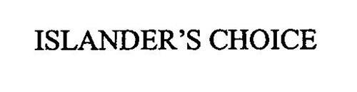 ISLANDER'S CHOICE