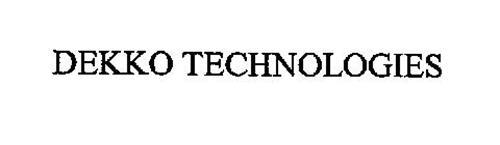 DEKKO TECHNOLOGIES