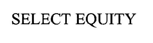 SELECT EQUITY