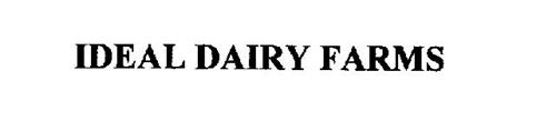IDEAL DAIRY FARMS