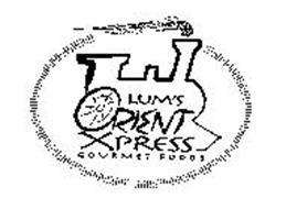 LUM'S ORIENT XPRESS GOURMET FOODS