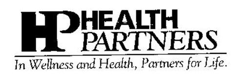 HP HEALTH PARTNERS IN WELLNESS AND HEALTH, PARTNERS FOR LIFE.
