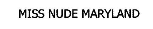 MISS NUDE MARYLAND