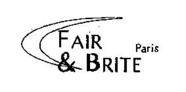 FAIR & BRITE PARIS