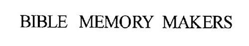 BIBLE MEMORY MAKERS