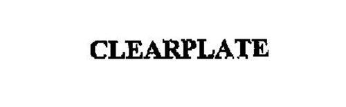 CLEARPLATE