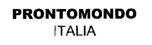 PRONTOMONDO ITALIA