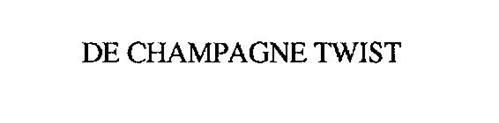 DE CHAMPAGNE TWIST