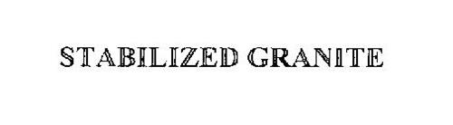 STABILIZED GRANITE