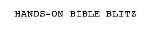 HANDS-ON BIBLE BLITZ