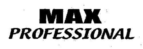 MAX PROFESSIONAL