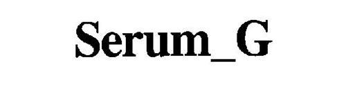 SERUM_G