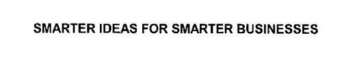 SMARTER IDEAS FOR SMARTER BUSINESSES