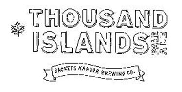 THOUSAND ISLANDS PALE ALE SACKETS HARBOR BREWING CO.