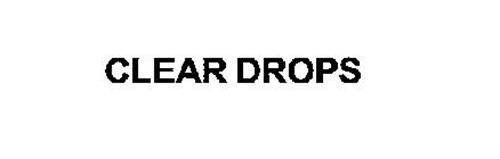 CLEAR DROPS