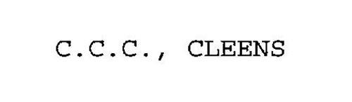 C.C.C., CLEENS