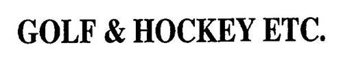 GOLF & HOCKEY ETC.